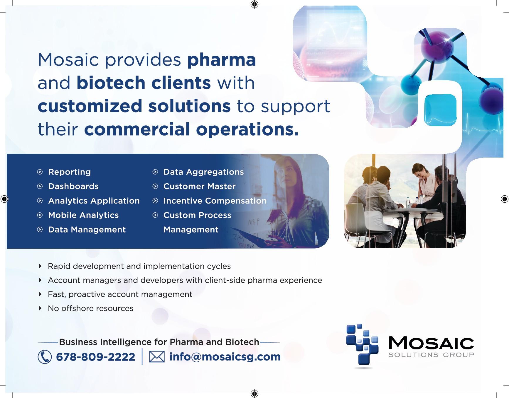 Pharma Business Intelligence Billboard