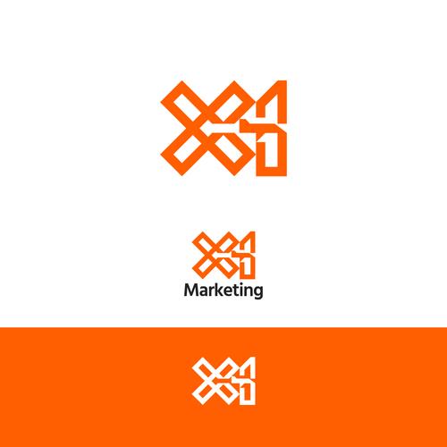 Logo for marketing agency