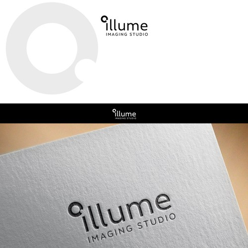 Minimalist logo for photo studio