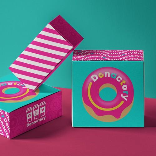 Packaging Foodtruck Donut