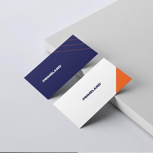 Simple, straight forward, bold logo for PRIMELAND