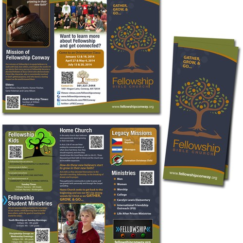 Create brochure that someone will actually read for us!