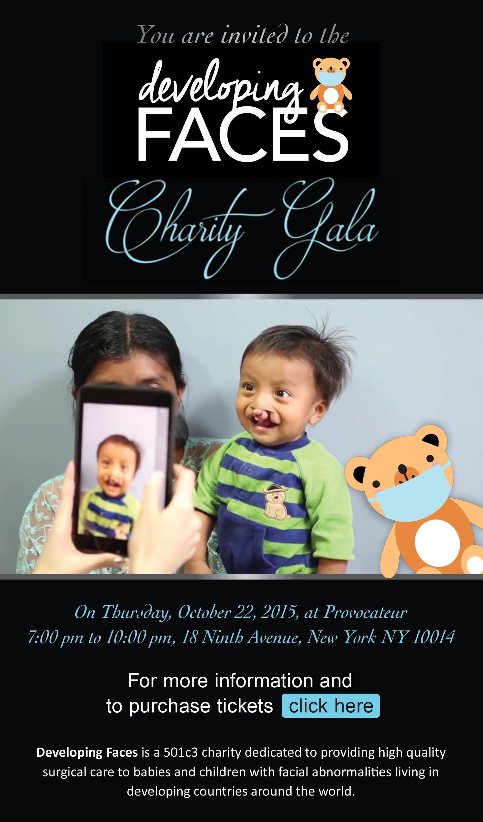 Invitation for Charity Gala