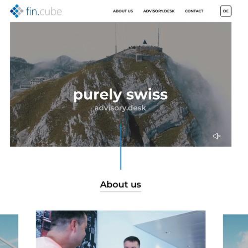 Fresh and modern website