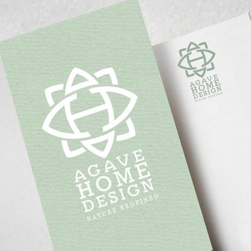 Interior Decor design logo: Agave Home Design AHD