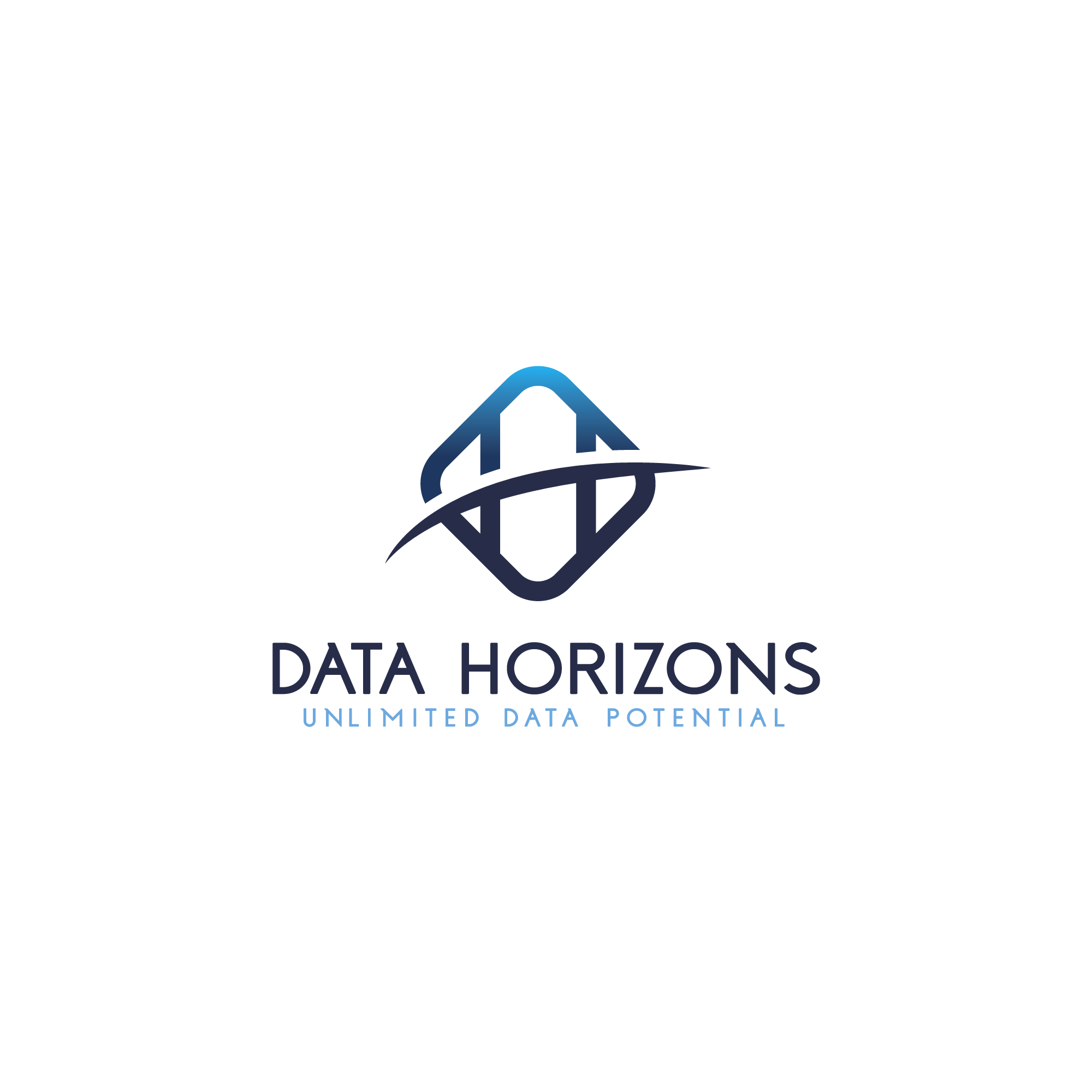 """The Data Horizons """"Unlimited Data Potential"""" logo challenge"""