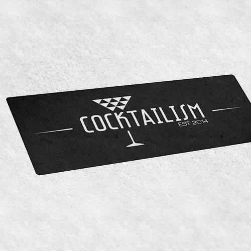 cocktailism - die Welt der Alkoholenthusiasten sucht ein Logo