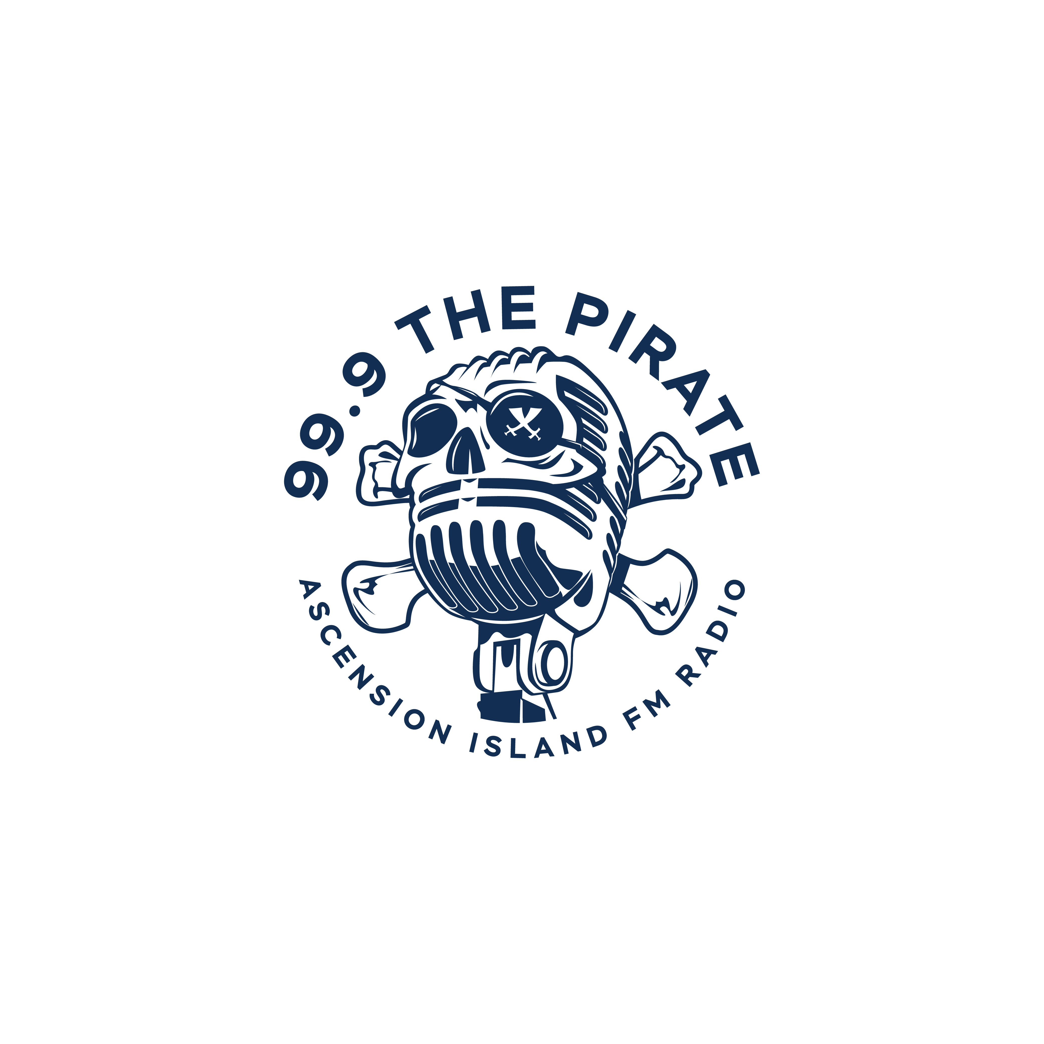 Logo for Pirate Radio Station on Ascension Island