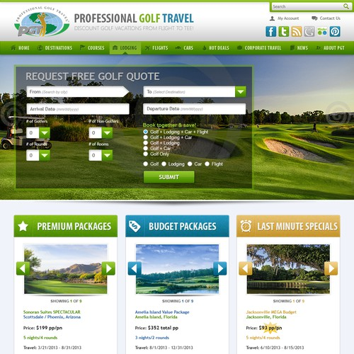 Professional Golf Travel, Inc.