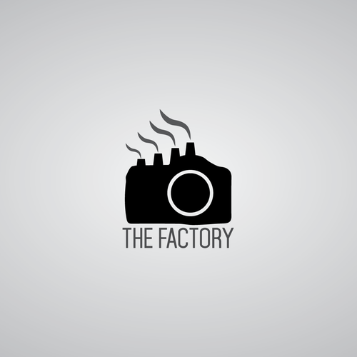 Create a simple but stylish logo for a photography studio