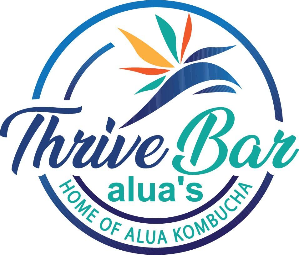Thrive! Bar! Yes, a Thrive Bar! Logo time!