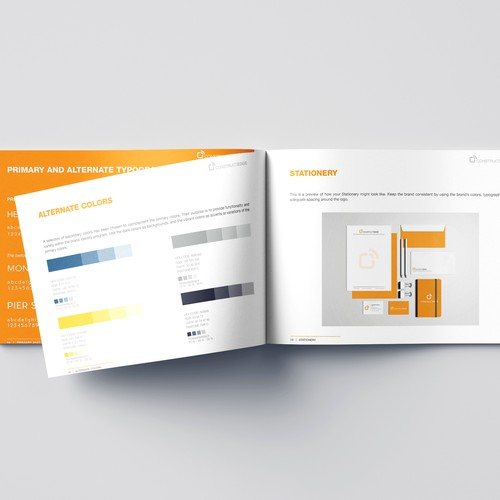 Brand Guide Design for ConstructEdge