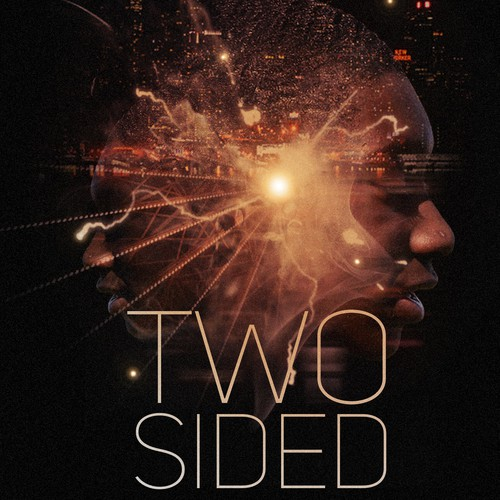 Showing inner demons in a book cover design