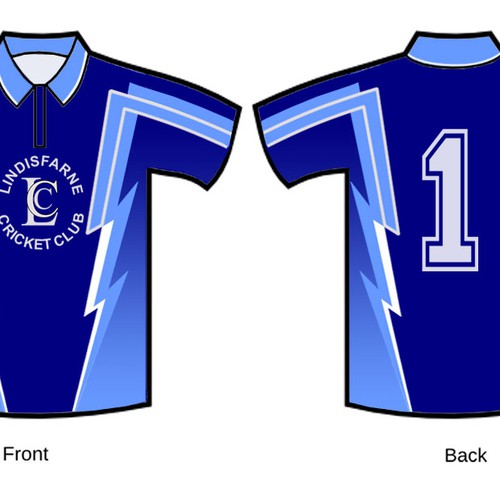 Design a funky and professional playing polo for a sports team