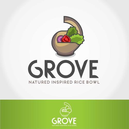 Logo design for health food restaurant