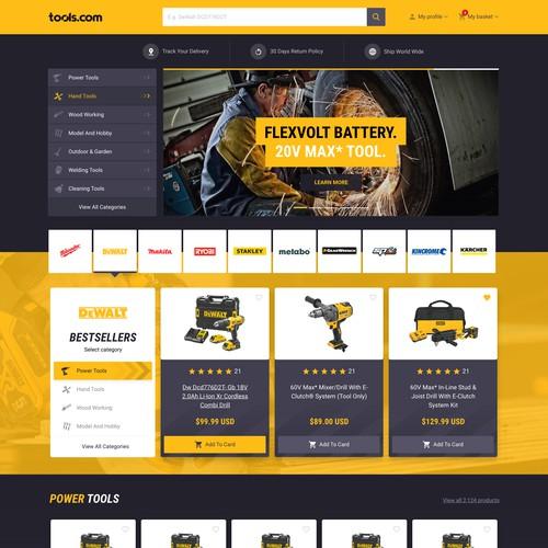 Tools.com online store