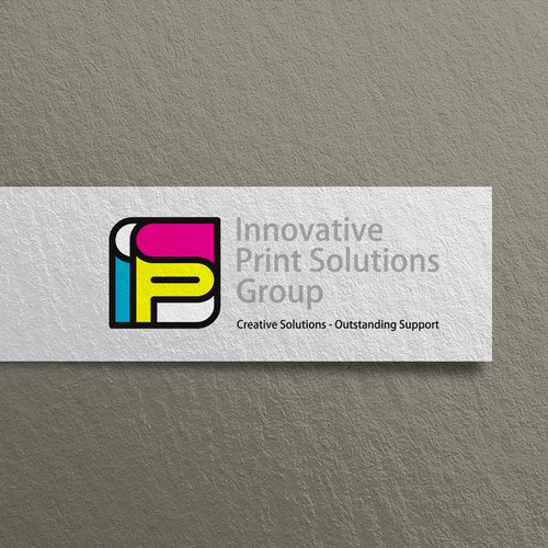 Strong and iconic logo for Printing Consulting Company