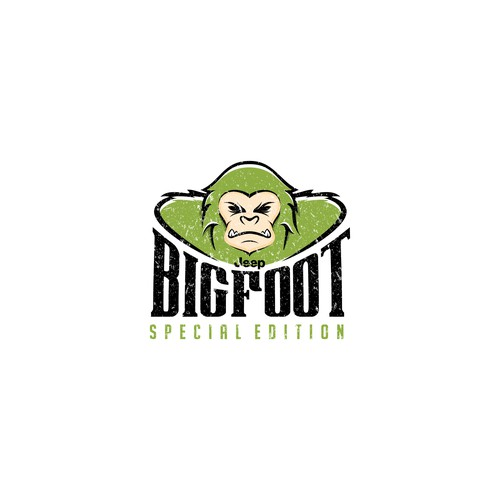 logo concept for BIGFOOT