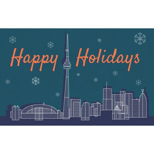 Christmas Card for a company based in Toronto