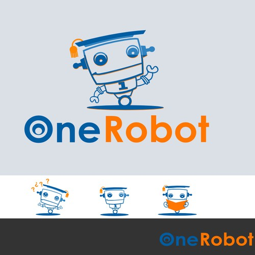 One robot logo