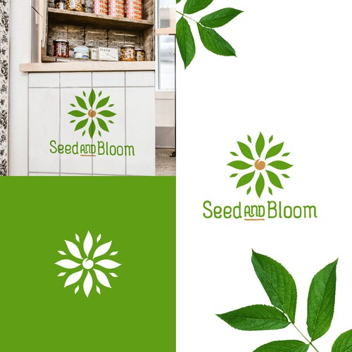 Seed and Bloom Logo