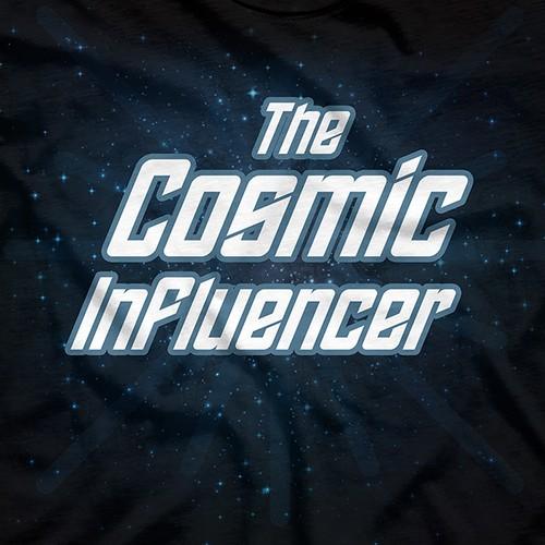 The Cosmic Influencer T-Shirt Design