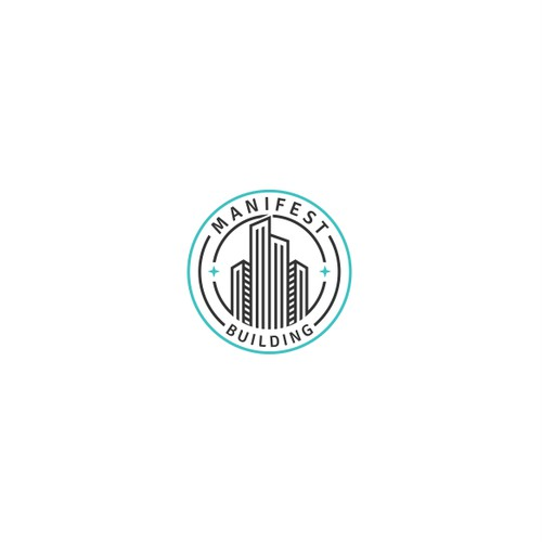 Line Art logo design for Manifest Building