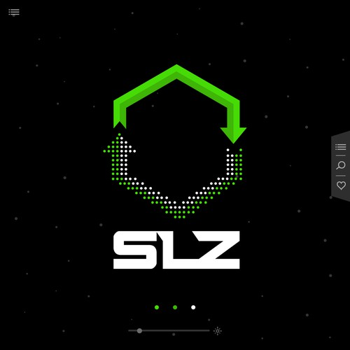 Modern Recycle Concept for SLZ logo