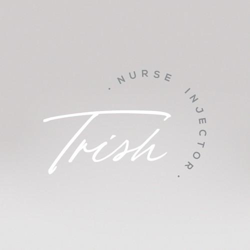 Cosmetologist logo concept