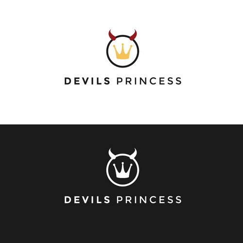 Minimal logo concept for DevilPrincess