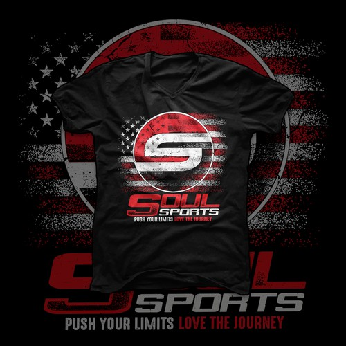 American Centered Sport T-shirt