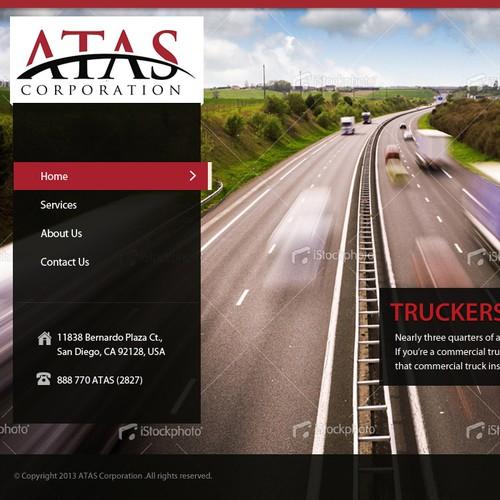 ATAS Corporation needs a new website design