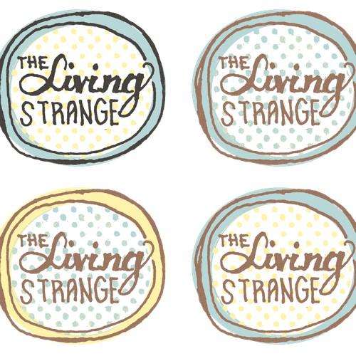 The Living Strange Logo