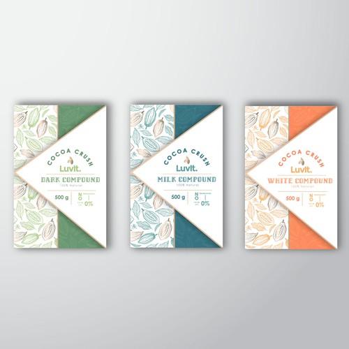 Création d'un packaging pour du chocolat