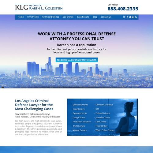 Law website