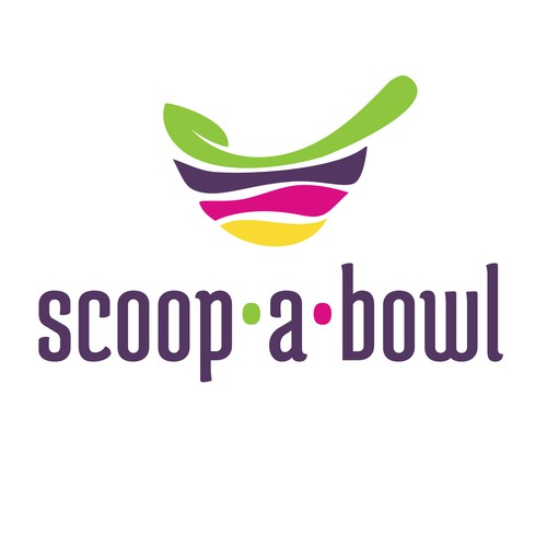 Scoop a bowl