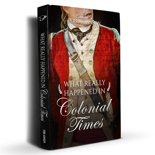 Re design of book cover What really happened in Colonial Times