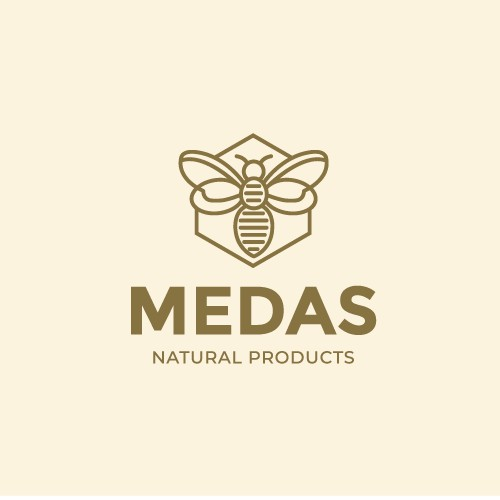 Logo for a Honey Brand