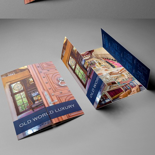 Ornate Luxury Real Estate Brochure - One of a kind