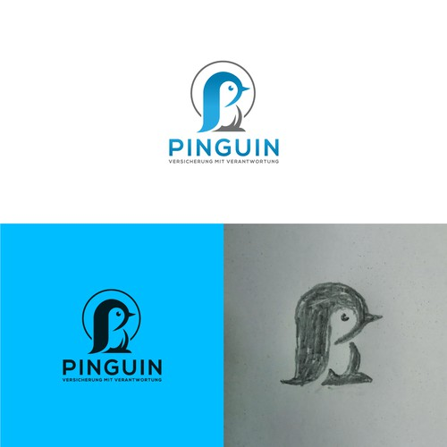 "Create logo for social impact insurance service ""Pinguin"""