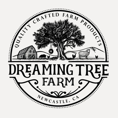 Logo for Dreaming Tree farm