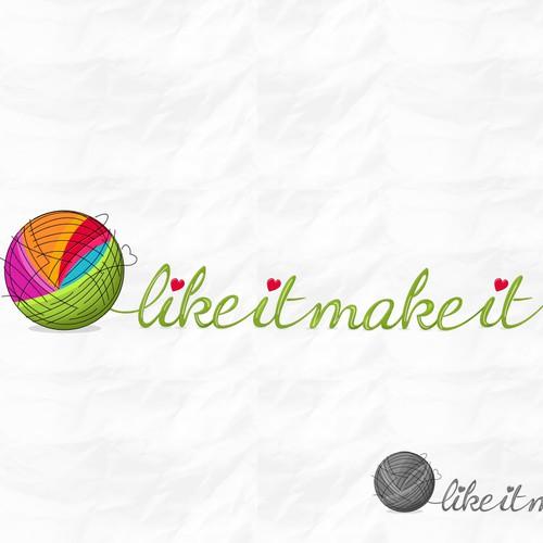 Create a logo for a yarn and crochet company