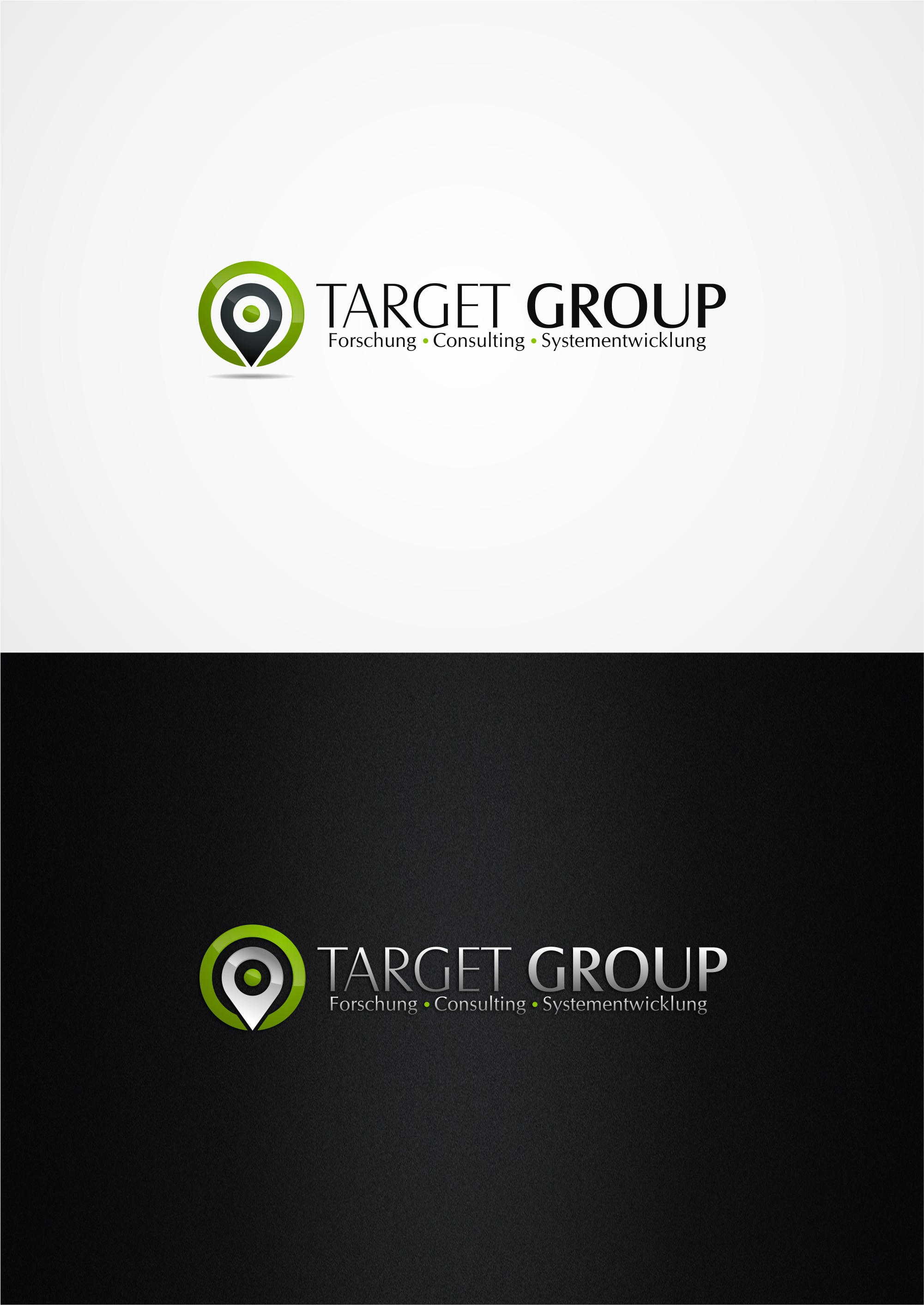 Outstanding logo for the market research institution targetgroup!