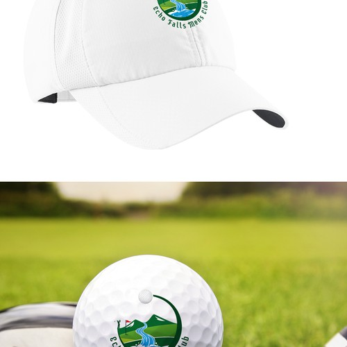Artistic logo for Golf Club