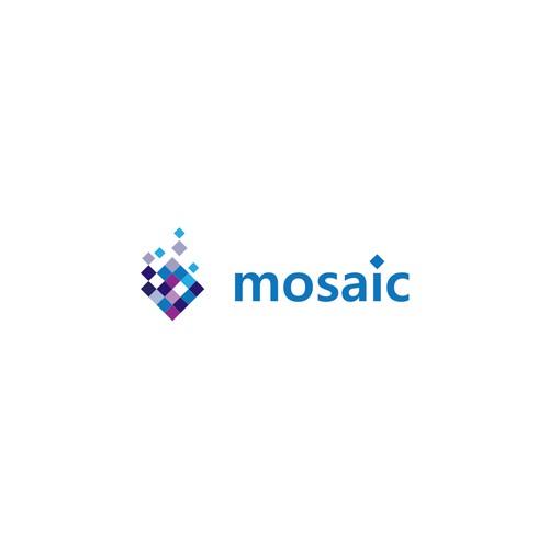 Mosaic Square Logo