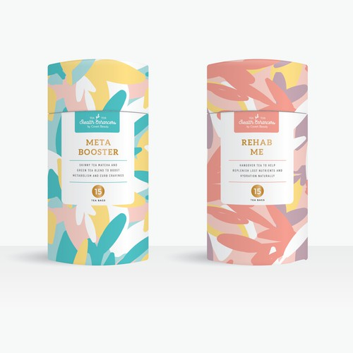 Packaging design for tea product