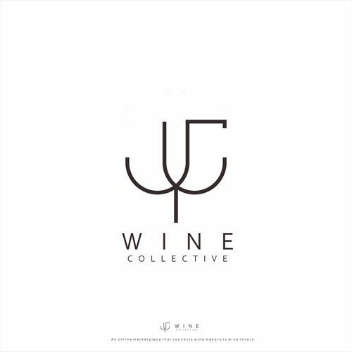 logo concept for Wine Collective