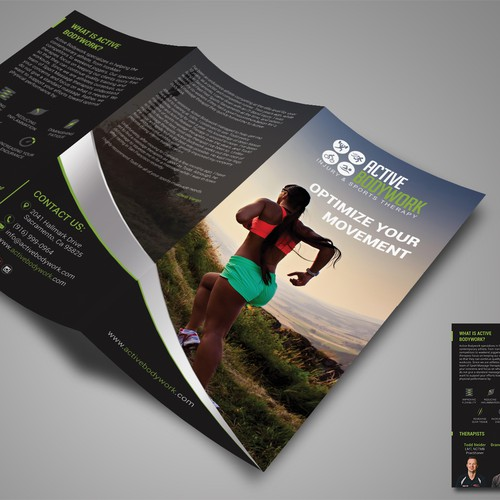 Brochure for Active Bodywork