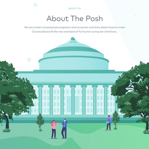 Posh Website