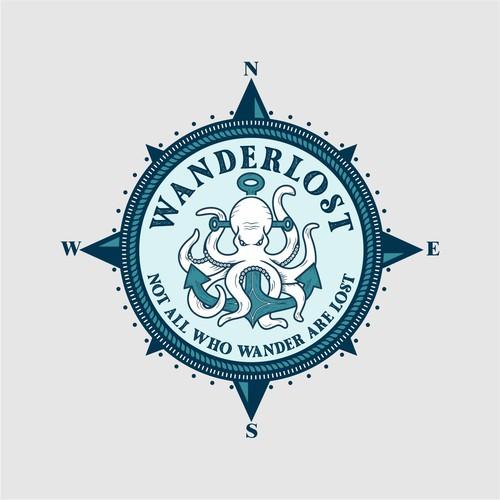 logo contest WANDERLOST